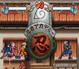 Naruto ninja council 3 download gba