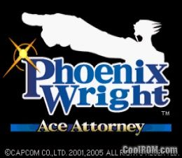 Phoenix Wright - Ace Attorney ROM Download for Nintendo DS / NDS