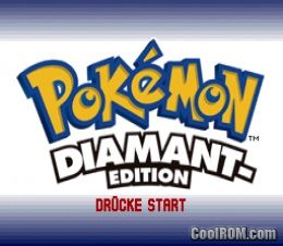 Pokemon diamant edition germany rom download for for Cool roms