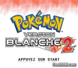 Pokemon Version Blanche 2 France Rom Download For Nintendo Ds Nds Coolrom Com