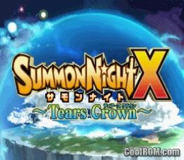Summon night x tears crown japan nds rom paradise