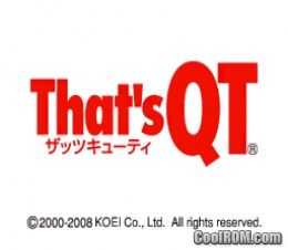 That's QT (Japan) ROM Download for Nintendo DS / NDS
