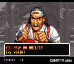 Art Of Fighting Rom Download For Neo Geo Coolrom Com