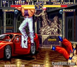 art of fighting 2 snes rom