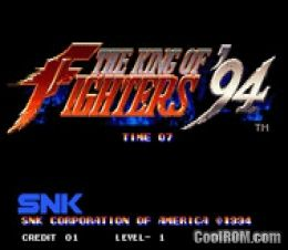 King of Fighters '94 ROM Download for Neo Geo - CoolROM com