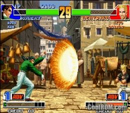 king of fighters 2002 cool rom
