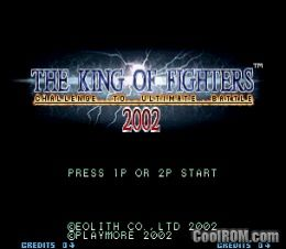 King of Fighters 2002 ROM Download for Neo Geo - CoolROM com