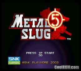 metal slug 7 neo geo rom free download