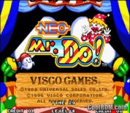 Neo Mr  Do ROM Download for Neo Geo - CoolROM com