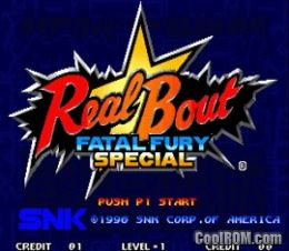 Real Bout Fatal Fury Special ROM Download for Neo Geo
