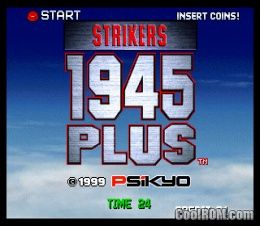 Strikers 1945 Plus ROM Download for Neo Geo - CoolROM com