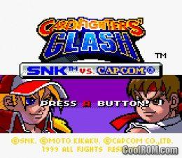snk vs capcom card fighters