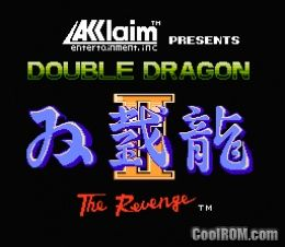 Double Dragon Ii The Revenge Rom Download For Nintendo Nes Coolrom Com