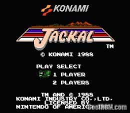 Jackal rom download for nintendo nes for Cool roms