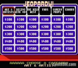 Jeopardy Rom Download For Nintendo Nes Coolrom Com