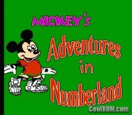 ROMs » Nintendo » M » Mickey's Adventures in Numberland