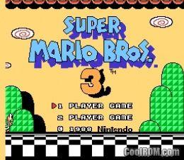 Super Mario Bros 3 Japan Rom Download For Nintendo Nes