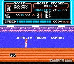how to play track and field 2 for nes