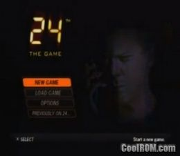 24 - The Game (En,Fr,Es) ROM (ISO) Download for Sony