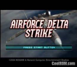 AirForce Delta Strike ROM (ISO) Download for Sony Playstation 2