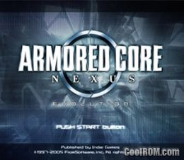 Armored Core - Nexus (Disc 1) (Evolution) ROM (ISO) Download for