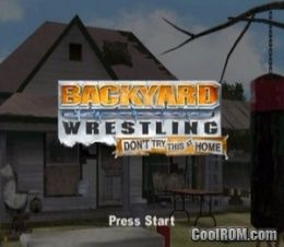 Backyard Wrestling Don t Try This at Home ROM ISO