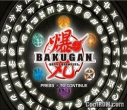 Bakugan - Battle Brawlers ROM (ISO) Download for Sony Playstation 2