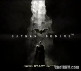 Batman Begins ROM (ISO) Download for Sony Playstation 2