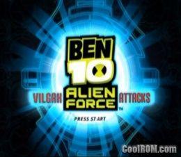 Ben 10 - Alien Force - Vilgax Attacks (En,Fr,Es) ROM (ISO) Download