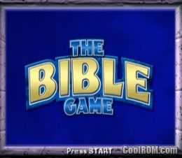 Bible Game, The ROM (ISO) Download for Sony Playstation 2 / PS2