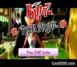 bratz ps2 games