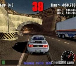 Burnout ROM (ISO) Download for Sony Playstation 2 / PS2