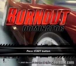 Burnout Dominator (Europe) ROM (ISO) Download for Sony Playstation 2