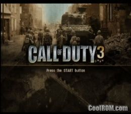 Call Of Duty 3 Special Edition Bonus Rom Iso Download For Sony Playstation 2 Ps2 Coolrom Com
