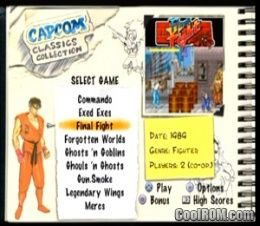 Capcom Classics Collection Vol  1 ROM (ISO) Download for Sony