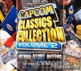 capcom classics collection vol.1 ps2 dvd image.iso