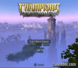 Champions - Return to Arms (v2 00) ROM (ISO) Download for Sony
