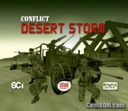 Conflict - Desert Storm ROM (ISO) Download for Sony Playstation 2