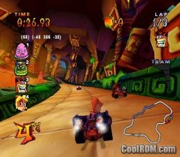 GameCube - Crash Tag Team Racing - Character Icons - The Spriters ...
