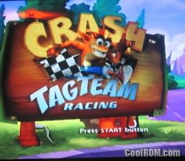 Crash Tag Team Racing ROM (ISO) Download for Sony