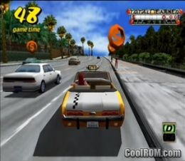 crazy taxi ps2 cover