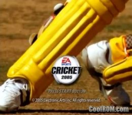 Cricket 2005 (Europe, Australia) ROM (ISO) Download for Sony