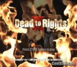 dead to rights retribution psp iso download