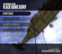 Delta Force - Black Hawk Down ROM (ISO) Download for Sony