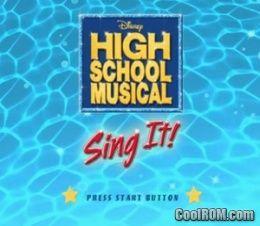 High School Musical: Sing it - PlayStation 2