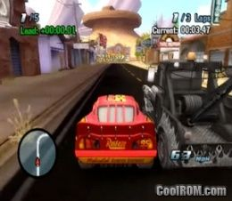 Disney-Pixar Cars (Europe, Australia) ROM (ISO) Download for