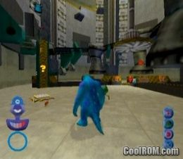 Disney-Pixar Monsters, Inc. ROM (ISO) Download for Sony