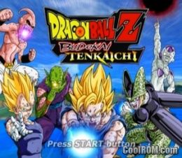 dragon ball z shin budokai cool rom