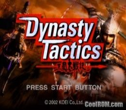 Dynasty Tactics Europe Rom Iso Download For Sony Playstation 2