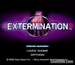 Extermination ROM (ISO) Download for Sony Playstation 2